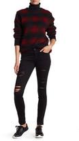 Genetic Los Angeles Shya Distressed Black Skinny Jean