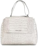 Orciani snakeskin effect tote - women - Leather - One Size
