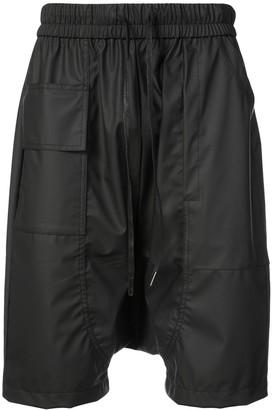 Private Stock Drop-Crotch Drawstring Shorts