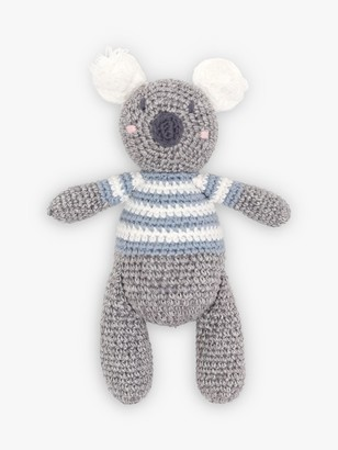 Albetta Crochet Koala Rattle Toy