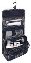 PalaeoWind Unisex Portable Travel Shower Bag Folding Waterproof Makeup Bag With Hook Toiletry Organizer Storage,