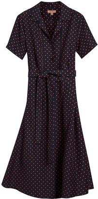 Burberry Polka-Dot Dress