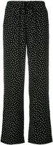 P.A.R.O.S.H. wide leg polka dot trousers - women - Silk - S