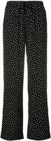 P.A.R.O.S.H. wide leg polka dot trousers - women - Silk - XS
