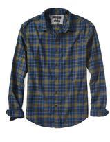 Banana Republic Grant-Fit Luxe Flannel Tartan Shirt