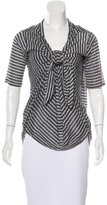Elizabeth and James Striped Tunic Top