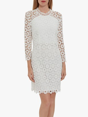 Gina Bacconi Makaya Lace Dress, White