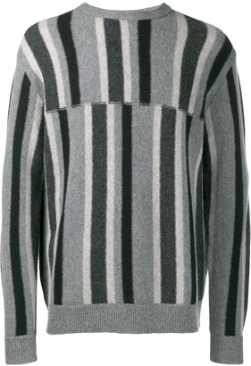 Pringle deconstructed stripe sweater