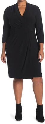 Anne Klein Ity V-Neck Wrap Dress