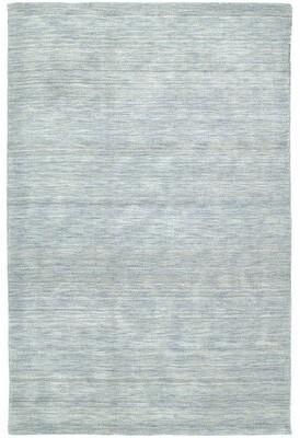 Red Barrel Studioâ® Mccabe Handwoven Wool Azure Rug Red Barrel StudioA Rug Size: Rectangle 3' x 5'