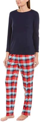 Nautica 2Pc Pajama Pant Set