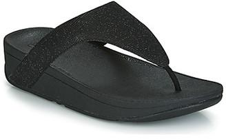 FitFlop LOTTIE GLITZY women's Flip flops / Sandals (Shoes) in Black