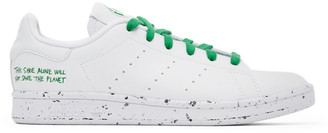 adidas White Clean Classics Stan Smith Sneakers