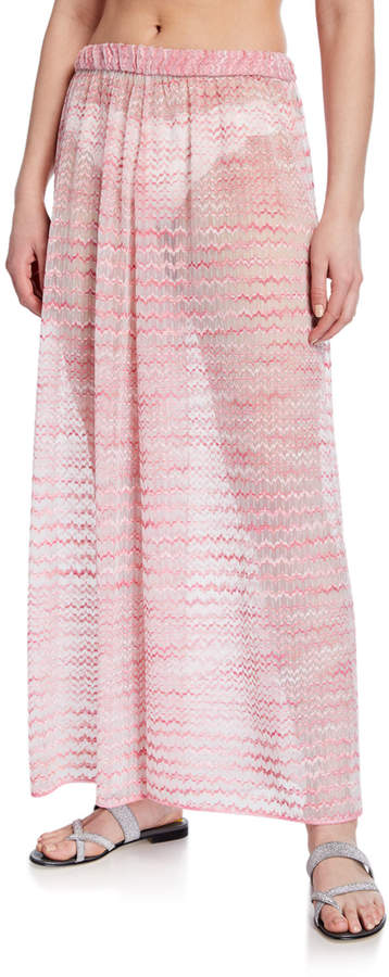 Missoni Mare Wide-Leg Pull-On Coverup Pants