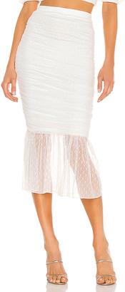 Camila Coelho Xavier Midi Skirt