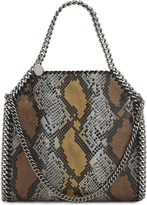 Stella McCartney Mini Baby Bella snake-embossed tote