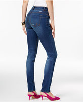 INC International Concepts Curve Creator Indigo Wash Skinny Jeans, Only at Macy's
