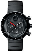 Movado 42mm Edge Chronograph Watch, Black
