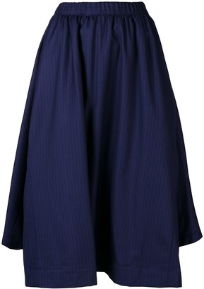 Comme des Garçons Comme des Garçons Striped Asymmetric Skirt