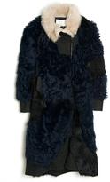 3.1 Phillip Lim Patchwork Shearling Coat