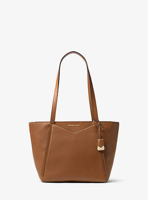 Michael Kors Whitney Small Pebbled Leather Tote Bag