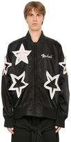 Kokon To Zai Star Cut Out Nylon Bomber Jacket
