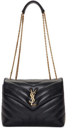 Saint Laurent Black Small Loulou Bag