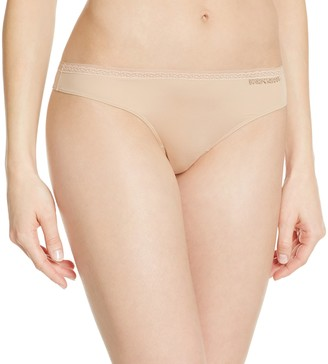 Emporio Armani Women's Sophisticated Microfiber Thong