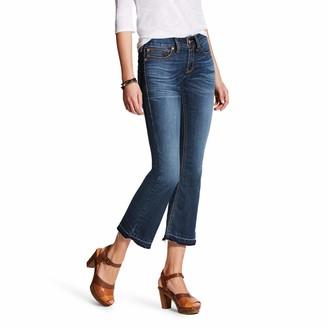 Ariat Women's R.E.A.L Cropped Bootcut Jean