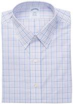 Brooks Brothers Light Pink Plaid Long Sleeve Regent Classic Fit Shirt