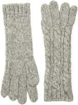 Polo Ralph Lauren Alpaca Classic Aran Gloves Wool Gloves
