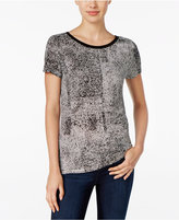 Calvin Klein Jeans Printed Short-Sleeve Top
