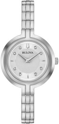 Bulova Women's Classic Rhapsody Bracelet Watch, 30mm