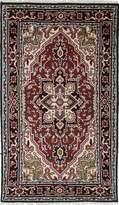 Ecarpetgallery Hand-knotted Royal Heriz Medallion Corners 3' x 6' 100% Wool area rug