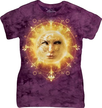 The Mountain Junior's Sun Face Ladies Graphic T-Shirt