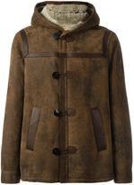 Neil Barrett hooded short coat