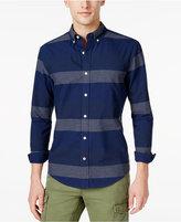 Tommy Hilfiger Men's Big & Tall Jaxon Striped Shirt