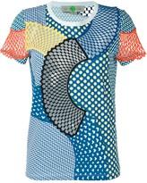 Stella McCartney 'Cobalt Mesh Mix' T-shirt