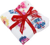 Cath Kidston Guernsey Flowers Face Cloth - Set of 3