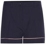 Miu Miu Stretch virgin wool shorts