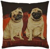 Adorabella Lounge Dogs - Pugs Cushion