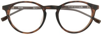 HUGO BOSS Round-Frame Glasses
