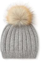 Joseph Cashmere Luxe Pompon Hat