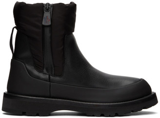 Moncler Black Rain Dont Care Boots