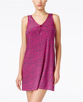 Alfani Satin-Trimmed Short Nightgown, Only at Macy's