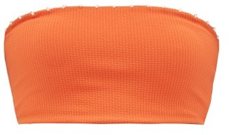 Marysia Swim Corsica Bandeau Bikini Top - Womens - Orange