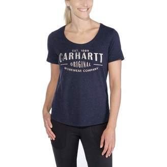 Carhartt Women's Lockhart Graphic Workwear Short Sleeve T-Shirt