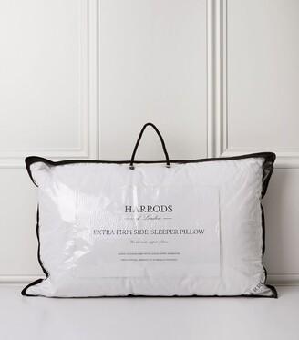 Harrods 90% Goose Down Side Sleeper Pillow (Extra Firm)