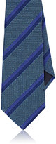 Giorgio Armani MEN'S STRIPED SILK NECKTIE