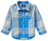 Joules Baby Boys 12 Months-3T Lachlan Plaid Button-Down Shirt